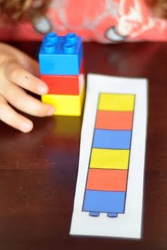 Lego Pattern Building- autism, visual attention?