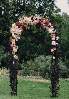 Amazing floral arch