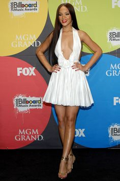 In Zac Posen at the Billboard Music Awards. See all of Rihanna's best looks.
