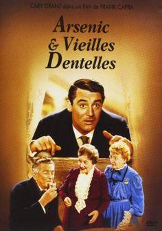 """""""Arsenic & vieilles dentelles""""réalisé en 1941 par Franck Capra (sortie du film en 1944) ,adapté d'une pièce de théâtre de Joseph Kesselring."""