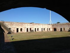 Scenes from Fort Macon in Atlantic Beach, NC.  A perfect day trip from Beaufort, North Carolina.  (Photo by David Cartier)