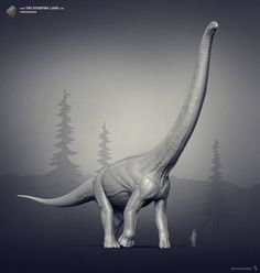 Puertasaurus. The Stomping Land. 02 by Swordlord3d on DeviantArt