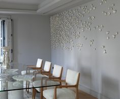 valéria nascimento / instalación de arte en casa privada, barcelona