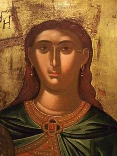 Mona Lisa, Saints, Face, Artwork, Pictures, Angels, Greek, Women, Byzantine Icons
