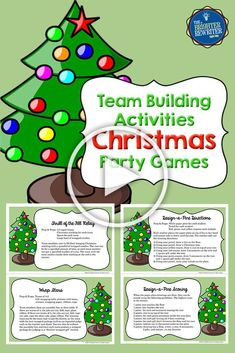 ✔ Christmas Activities For Adults Team Building Christmas Activities For Adults, Staff Christmas Party Ideas, Holiday Activities, Holiday Parties, Class Activities, Classroom Activities, Holiday Ideas, Office Party Games, Gift Exchange Games