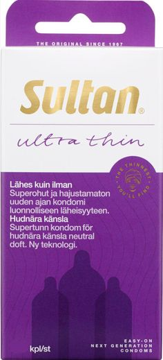 Sultan Ultra Thin kondomi, kondomit verkkokauppa