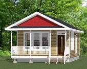 Etsy - Shopping Cart Garage Plans With Loft, House Plan With Loft, Cabin House Plans, Duplex House Plans, Small House Plans, House Floor Plans, Shed Building Plans, Building A House, Cabin Loft