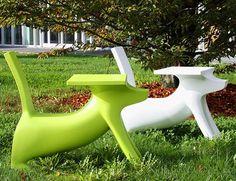 Kid's Dog Desk by Philippe Starck - Dog Milk