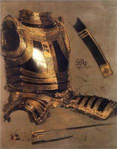 classic-art:    Armor of Stefan Batory  Jan Matejko