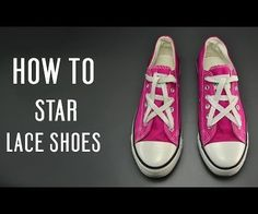 Learn how to Bow Tie lace your shoes, very simple instruction for vans, converse… Ways To Lace Shoes, How To Tie Shoes, Converse Haute, All Star, Shoe Lacing Techniques, Tenis Converse, How To Lace Converse, Baskets, Outfits