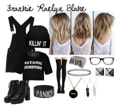 """""""Frankie Raelyn Blake"""" by noelleisnotonfire on Polyvore featuring Waterford, Bling Jewelry and Ray-Ban"""