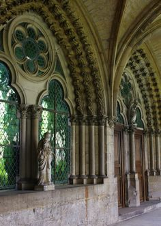 The solid grandeur of golden Romanesque ( Cloister of Noyon, Picardie, France) Gothic Architecture, Beautiful Architecture, Beautiful Buildings, Architecture Details, Beautiful Places, Monuments, Saint Quentin, Amiens, Medieval World
