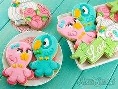 Love Bird Cookies by