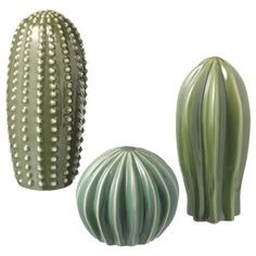 IKEA - SJÄLSLIGT, Decoration, set of green, You can decorate your home with green plants without having to water them, since the cactuses are made from ceramic. and 1 cactus (height dia. Ikea Interior, Interior Design, Kallax, Cactus Decor, Living Room Turquoise, Ikea Family, Color Glaze, Packaging, Modern Gardens
