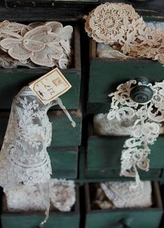 old lace and drawers