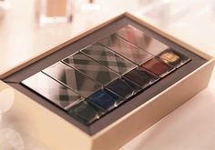 The limited edition set of six nail shades from Burberry Beauty - as seen on the A/W14 runway
