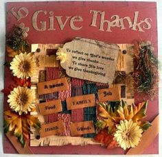 Thanksgiving scrapbook layouts | Thanksgiving Scrapbook Pages - Rosemary's Layout