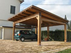 Image result for pergola oak carport
