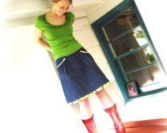 skirt. spring magic!