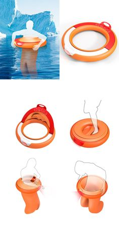 "'A-Circle Life Buoy' is designed to isolate the water, maintain body temperature, keep the user a float and more, which are the answers to all of our ""stranded at sea"" fears... READ MORE at Yanko Design !"
