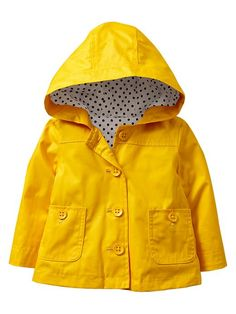 Mini Boden &39Rainy Day&39 Raincoat (Toddler Girls Little Girls &amp Big