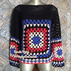 Blusa em Crochet modelo Granny Square. Fio Charme da @circuloprodutos  100% algodao.  @perolasdocrochet_renata   #crochet #croche #grannysquare #crochecolorido #semprecirculo #perolasdocrochet #fiocharme #instafashion #crochetclothes #winterclothes #winter #crochetlove #crochetblouse #inlove #modafashion #modaparameninas #instagood #handmade #feitoamao #perolasdocrochet