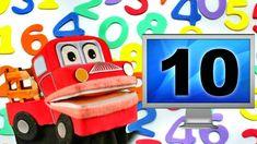 Video para trabajar el numero cardinal, aprender a contar hasta el número 10 de manera divertida.