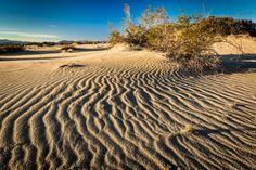 https://flic.kr/p/B7w4rt | Rippling Sand - Mojave National Preserve, CA, USA