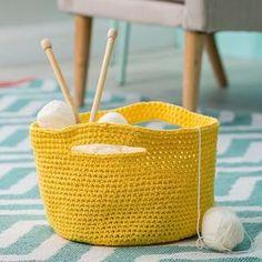 tuto crochet facile / un panier de rangement à faire en crochet / diy facile crochet Crochet Storage, Crochet Diy, Crochet Amigurumi, Crochet Beanie, Filet Crochet, Bead Crochet, Baby Blanket Crochet, Crochet Bags, Crochet Hooks