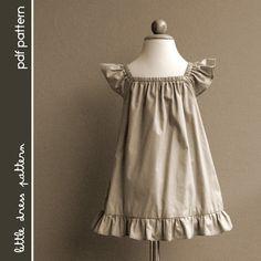 Lauren Dress  PDF Pattern  Size 12 months to par littledresspattern, $6.00