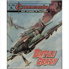 COMMANDO COMIC NO 1035 1976 TILLEYS of SHEFFIELD