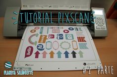 Tutorial PixScan con Scanner Silhouette Curio, Silhouette Images, Silhouette Portrait, Silouette Cameo Projects, Silhouette Projects, Velasco, Vinyl Projects, Print And Cut, Craft Tutorials