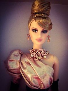Rush of Rose Gold Platinum Label Barbie Only 999 Worldwide NRFB | eBay