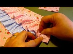 Best 12 Ruffle Diaper Cover Pattern Tutorial-How to make a ruffle, sew gathers, and create knife and box pleats Diaper Cover Pattern, Ruffle Diaper Covers, Baby Dress Tutorials, Sewing Tutorials, Sewing Patterns Girls, Baby Patterns, Toddler Dress Patterns, Crochet Ideas, Baby Outfits