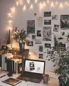 ↗️ 97 Amazing Beautiful Aesthetic Bedroom 53 - make up room studio My New Room, My Room, Dorm Room, Aesthetic Room Decor, Aesthetic Design, Dressing Room Design, Stylish Bedroom, Room Goals, Hallway Decorating