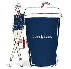 Ralph Lauren by Megan Hess