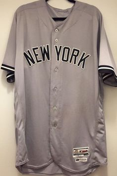 bf0e62fd3 Details about Luis Severino Yankees Game Worn Game Used 2018 Jersey Steiner  Mlb Authenticated