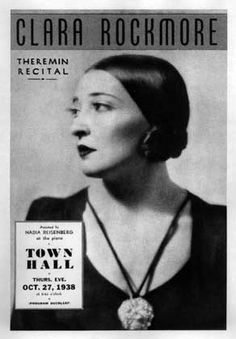 From Russia With Love: The Strange Tale of Clara Rockmore and Léon Theremin