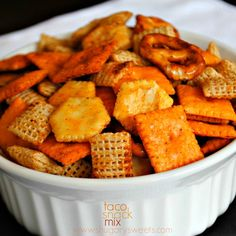 Taco Snack Mix: easy to make, no-baking required!