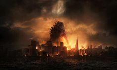 Two new bad ass Godzilla pics