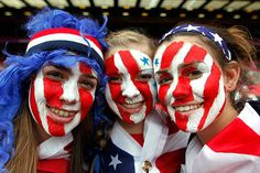 American fans at the Olympics #London2012