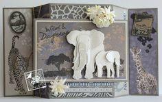 Joy!crafts: 3d olifant...