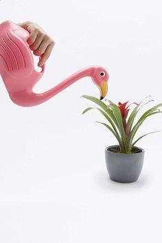 Flamingo-Gießkanne
