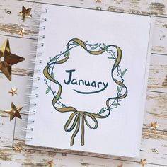 Here's the cover page for the month of January in my bujo - in love with ribbons а вот начало месяца в моем ежедневнике - вдохновляюсь ленточками . . . . . . . . . . . . . . . . #planneraddict #plannercommunity #bujo #journal #bulletjournal #bulletjournaling #bujojunkies #буллетджорнал #планер #plannerideas #bujoideas #bujoideas #лд #личныйдневник #ежедневник #bujoideasrepost #bujobeauty #bulletjournalss