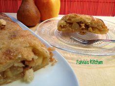 Fulvia's Kitchen: #Strudel di #mele, #pere e #nocciole