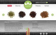Website Re-brand - Teahouse Kuan Yin