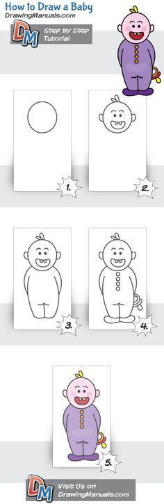 How to Draw a Baby