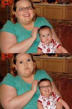 When face swaps go right…