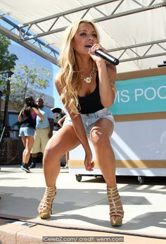 Havana Brown DJs and performs at 'Ditch Fridays' at the Palms Pool & Dayclub in the Palms Casino Resort http://www.icelebz.com/events/havana_brown_djs_and_performs_at_ditch_fridays_at_the_palms_pool_dayclub_in_the_palms_casino_resort/photo3.html