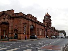 Nottingham Train Station, Nottingham, England. Happy memories of wonderful, amazing, lovely times in Nottingham <3